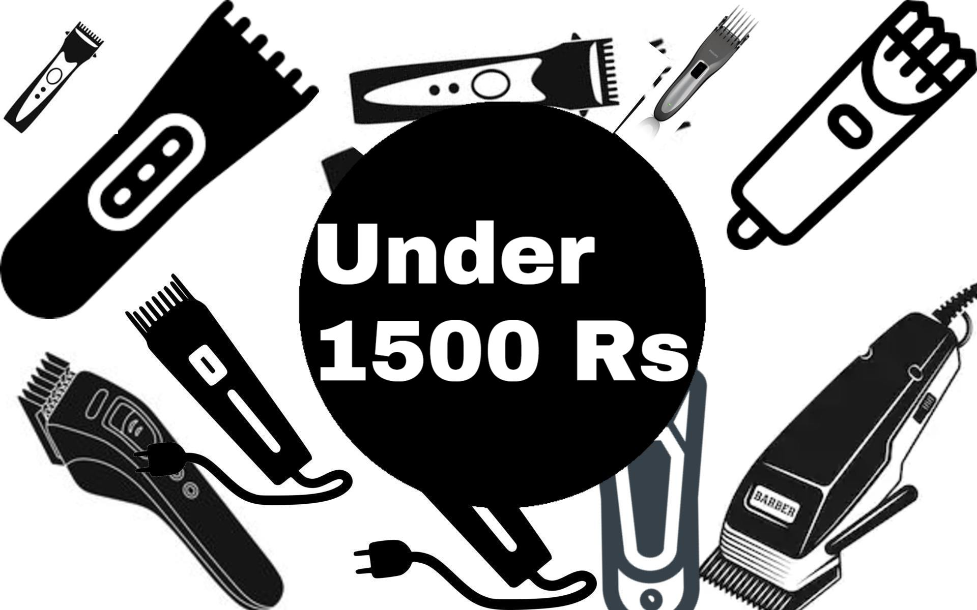 best trimmer under 1500 rs