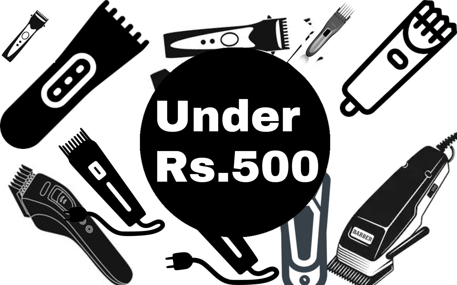 best trimmers under 500 rs