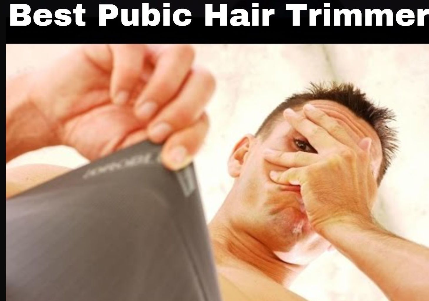 best pubic hair trimmer